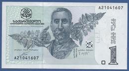 GEORGIA - P.68a – 1 LARI 2002 - UNC - Georgia