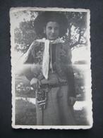 1952 FEMME FILLE COW BOY RAGAZZA GIRL MASCHERA CARNEVALE - RIZZEDDU VILLA PRUNAS SASSARI SARDEGNA - Persone Anonimi
