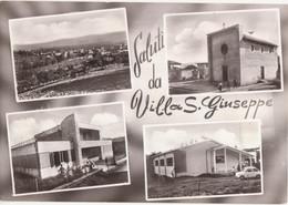 COLLI DEL TRONTO - FRAZ. VILLA S. GIUSEPPE - PANORAMA - CHIESA - SCUOLA - AUTO D'EPOCA CAR VOITURE FIAT 600 - NUOVA - Other Cities