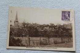 Blancafort, Vue Générale, L'église Et Le Château, Cher 18 - Autres Communes