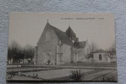 En Berry, Moulins Sur Yèvre, L'église, Cher 18 - Autres Communes