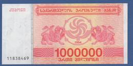 GEORGIA - P.52 – 1.000.000 Kuponi 1994 - UNC - Georgia