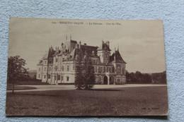 Cpa 1921, Menetou Salon, Le Château, Côté De L'est, Cher 18 - Autres Communes
