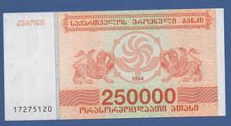 GEORGIA - P.50 – 250.000 Kuponi 1994 - UNC - Georgia