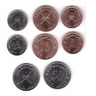 Oman - Set 4 Coins 5 10 25 50 Baisa 2020 UNC Lemberg-Zp - Oman