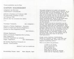 Gaston Haghebaert (1909-1992) - Devotion Images