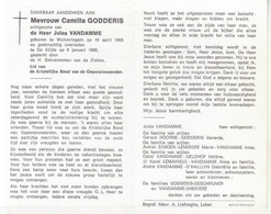 Camilla Godderis (1905-1989) - Devotion Images