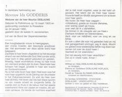 Ida Godderis (1903-1990) - Devotion Images
