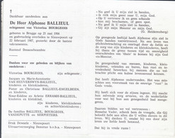 Alphonse Ballieul (1906-1987) - Devotion Images