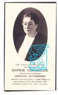 DP Foto - Sophie Vanassche ° Zwevegem 1869 † 1937 X Gustaaf Nottebaert - Devotion Images