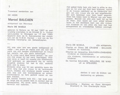 Marcel Balcaen (1907-1983) - Devotion Images