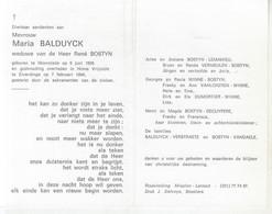 Maria Balduyck (1905-1994) - Devotion Images