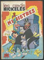 Les Pieds Nickelés N° 56 Ministres PELLOS éd SPE 1964  Car20006 - Pieds Nickelés, Les