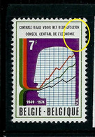 N°1731 -V  - Tâche Dans Le Coin -   (état: ** ) - Plaatfouten (Catalogus OCB)