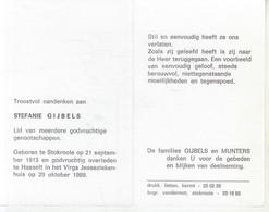 Stefanie Gijbels (1913-1989) - Devotion Images