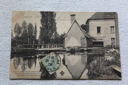 Cpa 1906, Coin De L'Arnon Près Le Château De Chevilly, Environs De Vierzon, Cher 18 - Autres Communes