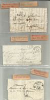 Lot Lettre Nancy 1792-1856 - 1801-1848: Precursors XIX