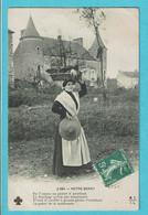 * Dép 18 - Cher- France * (M.T.I.L., Nr 2790) Notre Berry, Timbre, Ferme, Farm, Woman, Femme, Panier, Old, Chateau - Non Classés