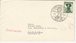 Österreich Mi 912 Christkindl 13.12.53 Nach Zürich - 1945-60 Cartas