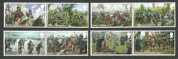 GB 2021 THE WARS OF THE ROSES MILITARY KNIGHTS SET MNH - Nuevos