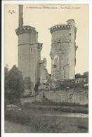 MEHUN SUR YEVRE ( Cher ) , Les Tours En Ruines - Mehun-sur-Yèvre