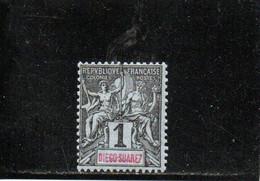 DIEGO-SUAREZ 1893 * - Unused Stamps
