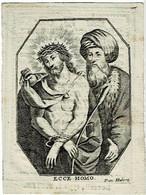 COSEN / / AVERBODE / MEERHOUT - Z.E.H. Ludovicus WYNS - Pastoor - Overleden 1812 - (Kopergravure) - Devotion Images