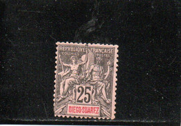 DIEGO-SUAREZ 1893 SANS GOMME - Unused Stamps