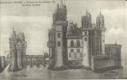 MEHUN SUR YEVRE , Château Du Roy Charles VII ( Côté De La Ville ) - Mehun-sur-Yèvre