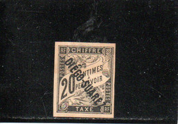DIEGO-SUAREZ 1892 SANS GOMME AMINCI-THINNED - Unused Stamps