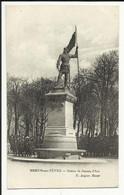 MEHUN SUR YEVRE , Statue De Jeanne D' Arc , CPA ANIMEE - Mehun-sur-Yèvre