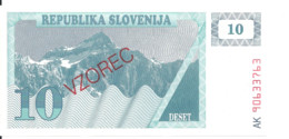 SLOVENIE 10 TOLARJEV 1990 UNC P 4s1 - Slovenia