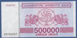 GEORGIA - P.51 – 500.000 Kuponi 1994  UNC - Georgia
