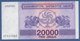 GEORGIA - P.46b – 20.000 Kuponi 1994  UNC - Georgia