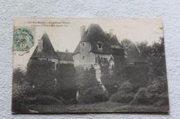 Cpa 1907, Chalivoy Milon, Château D'Yssertieux , Façade Sud, Cher 18 - Autres Communes