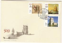 Portugal & 500 Anos Da Torre De Belém, Lisboa 2015 (3) - Covers & Documents