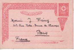 Turquie, Entier Postal Des Postes Ottomanes (1901) - Cartas