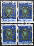 FRANCE N°2855 X 4 Oblitéré - Verzamelingen (zonder Album)