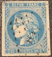 Emission De Bordeaux  N° 46B  Avec Oblitération Losange  Etat Bien - 1870 Bordeaux Printing