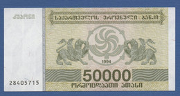 GEORGIA - P.48 – 50.000 Kuponi 1994  UNC - Georgia