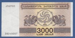 GEORGIA - P.45 – 3.000 Kuponi 1993  UNC - Georgia