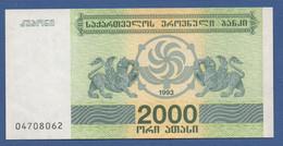 GEORGIA - P.44 – 2.000 Kuponi 1993  UNC - Georgia