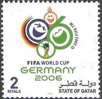 Soccer Football Qatar #1293 2006 World Cup Germany MNH ** - 2006 – Germany