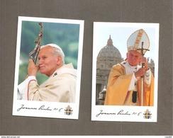 PAPA GIOVANNI PAOLO II  SANTINO LOTTO - Devotion Images