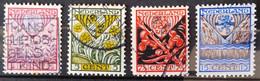 PAYS-BAS                           N° 195/198                     OBLITERE - Usati