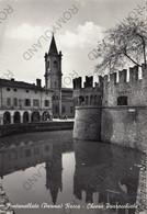 CARTOLINA  FONTANELLATO,PARMA,EMILIA ROMAGNA,ROCCA-CHIESA PARROCCHIALE,BELLA ITALIA,STORIA,VIAGGIATA 1960 - Parma