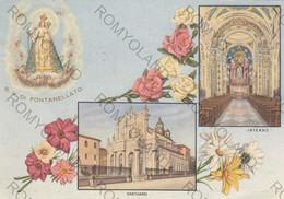 CARTOLINA  FONTANELLATO,PARMA,EMILIA ROMAGNA,NOSTRA SIGNORA DEL SANTO ROSARIO,RELIGIONE,STORIA,MEMORIA,VIAGGIATA 1967 - Parma