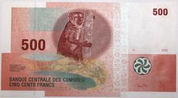 Comores - 500 Francs - 2006 - PICK 15b - NEUF - Comoros