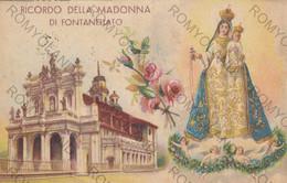 CARTOLINA  FONTANELLATO,PARMA,EMILIA ROMAGNA,NOSTRA SIGNORA DEL SANTO ROSARIO,RELIGIONE,STORIA,MEMORIA,VIAGGIATA 1948 - Parma