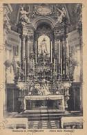 CARTOLINA  FONTANELLATO,PARMA,EMILIA ROMAGNA,SANTUARIO -ALTARE DELLA MADONNA,BELLA ITALIA,RELIGIONE,MEMORIA,VIAGG 1949 - Parma